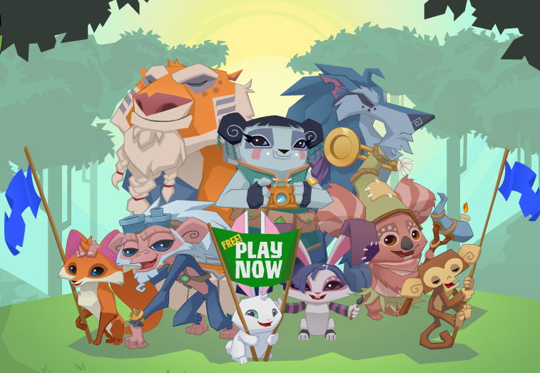 Animal Jam gives children an educational fact every time they complete a game or task