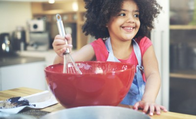 53072744 - children cooking happiness activitiy home concept