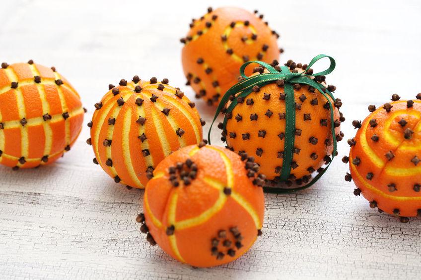 pomander balls, christmas