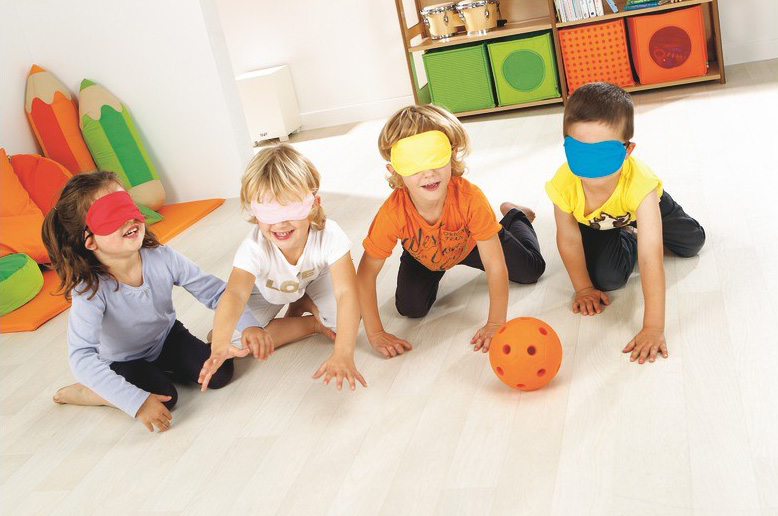 opaque masks from wesco for sensory play