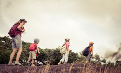 Nursery outings - children in the countryside