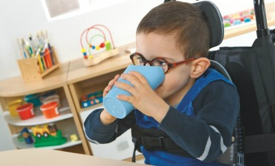 Child independence -nose cup