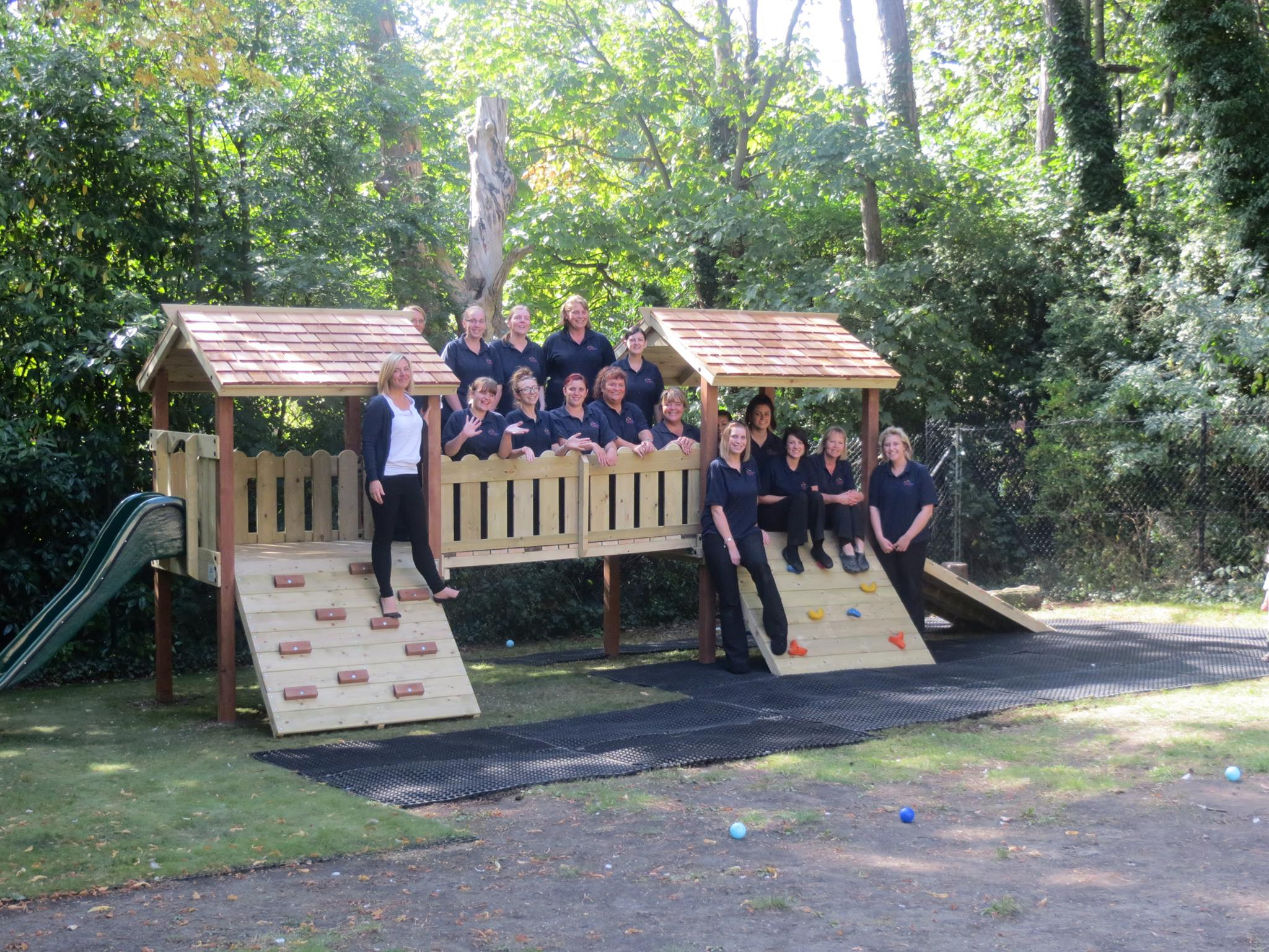 staff at play steps, managed by Jo Morris