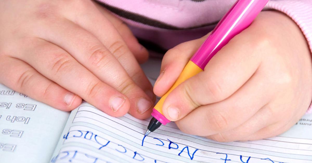 dyslexia hand