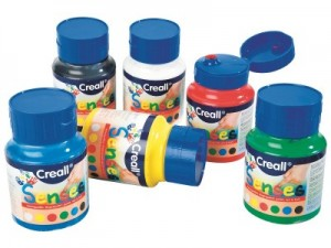 sensory finger paints