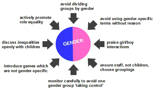 gender and groups