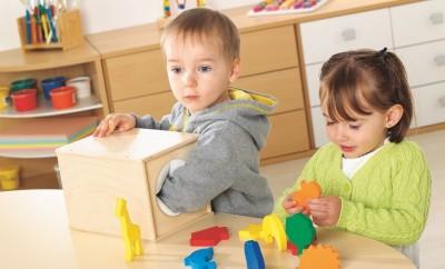 the object box sensory play