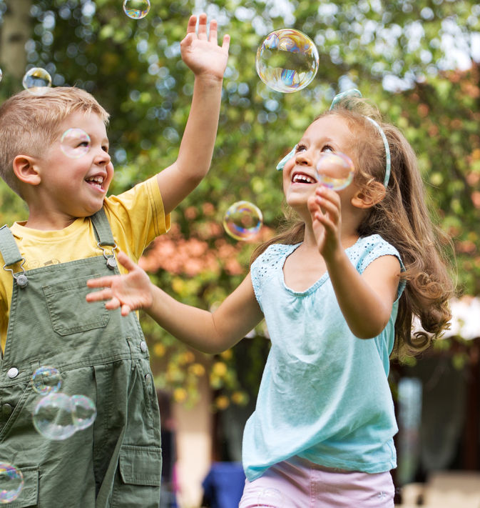 22306272 – nice picture of happy cute kids