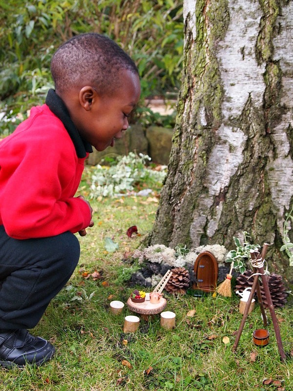 outdoor child led learning