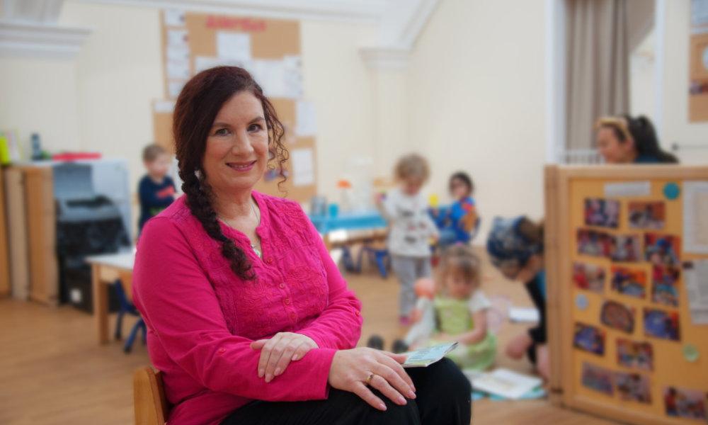 cheryl hadland at Tops Day Nurseries