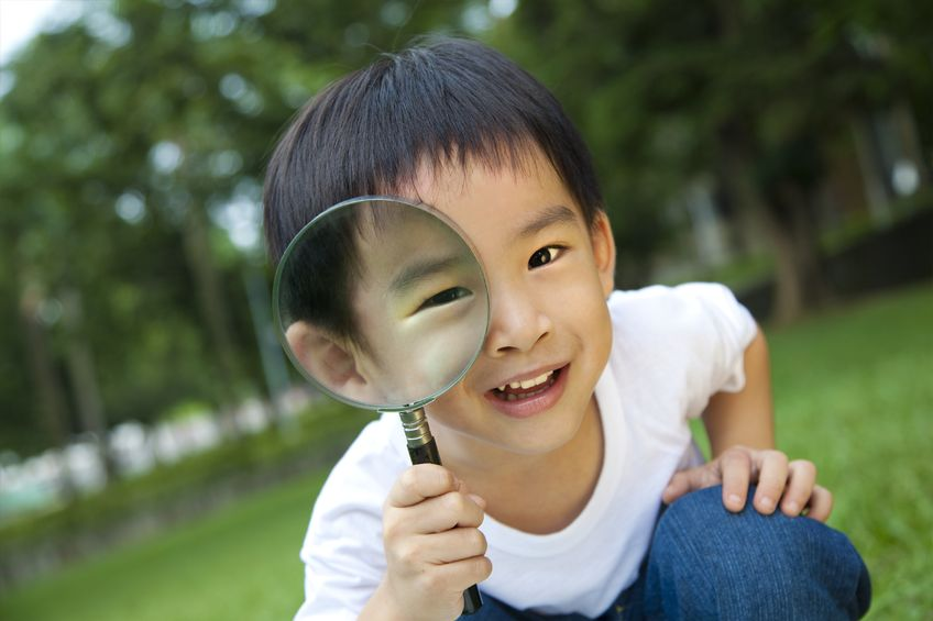 early years science activities magnifying glass