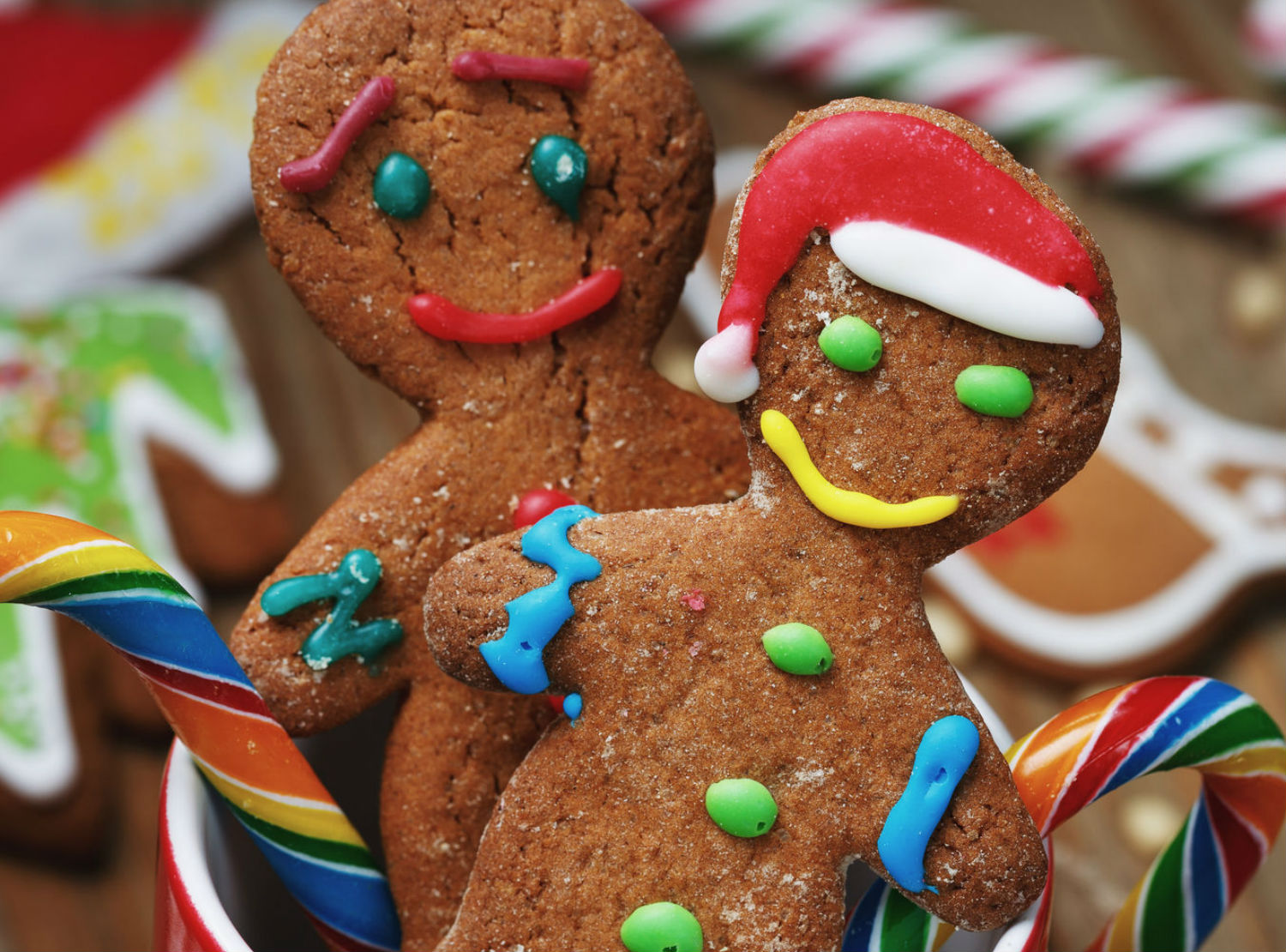 Winter Crafts Ideas Gingerbread Men