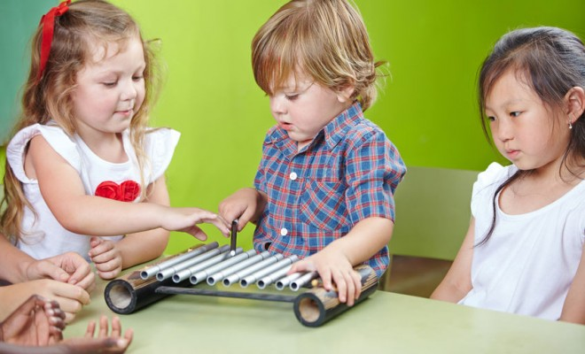music in early years xylophone