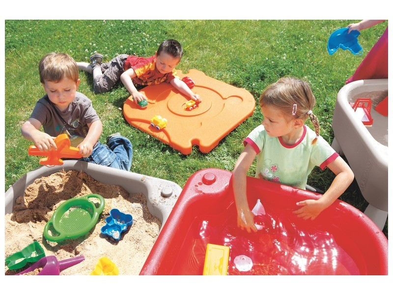 Sand and Water Activities Table