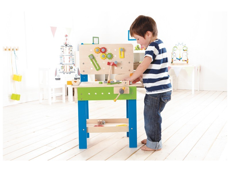 Imaginative Play Ideas - Work Bench