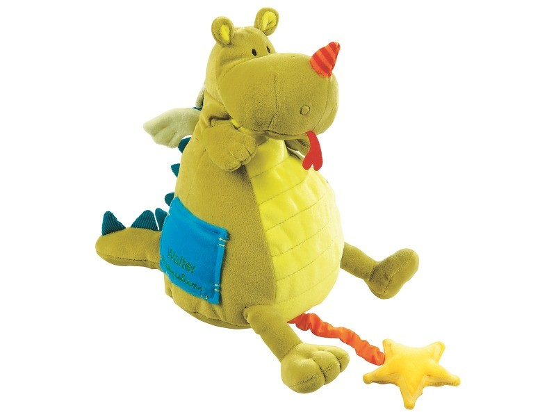 Best musical toys - Walter the dragon soft toy
