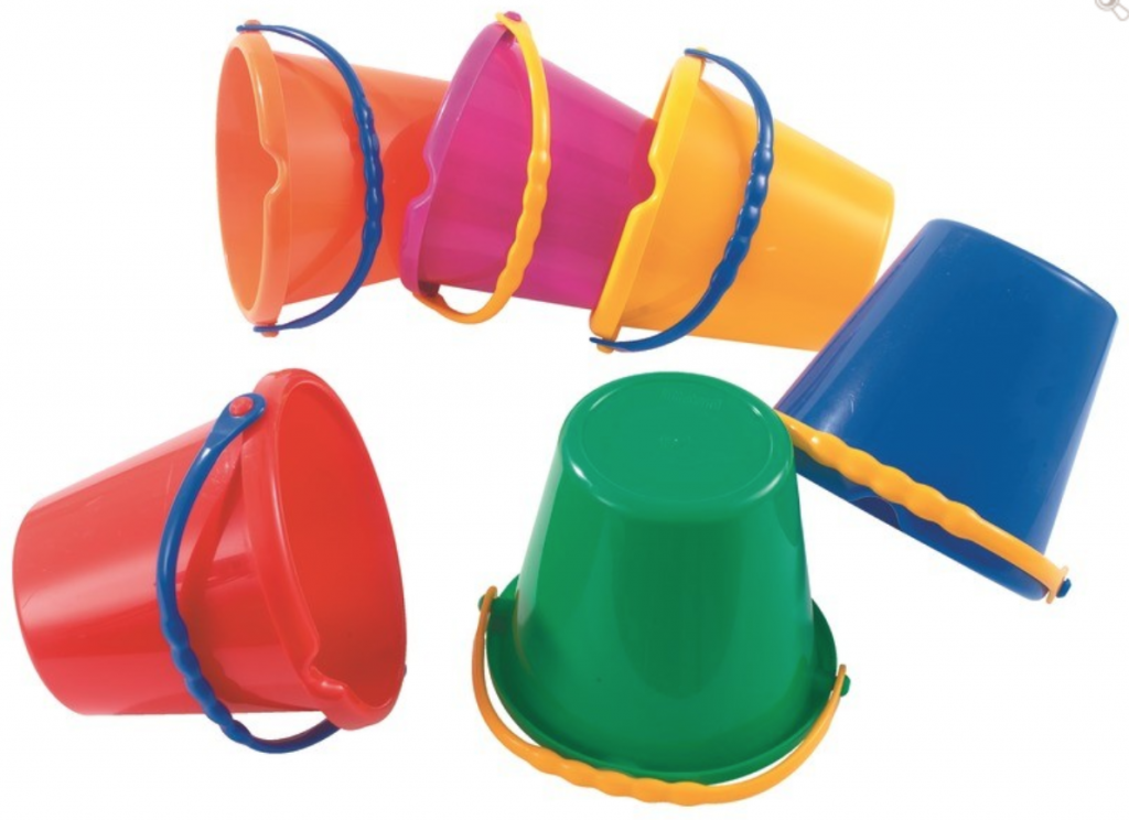 Buckets for Kids Outdoor Activities