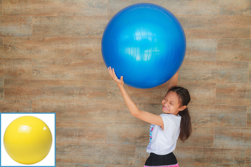 Kids Outdoor Activities – Big Ball Relay