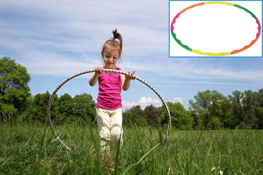 Kids Outdoor Activities - Hula Hoop Hoot
