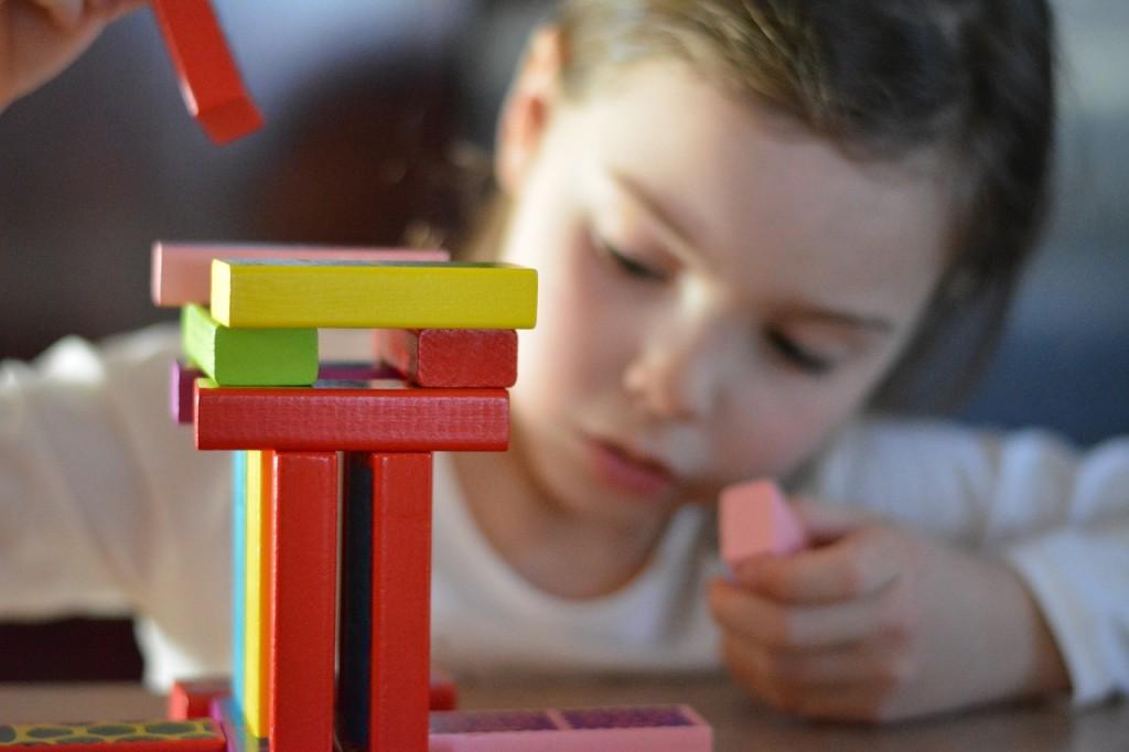 Preschool Reading Games: Building Blocks