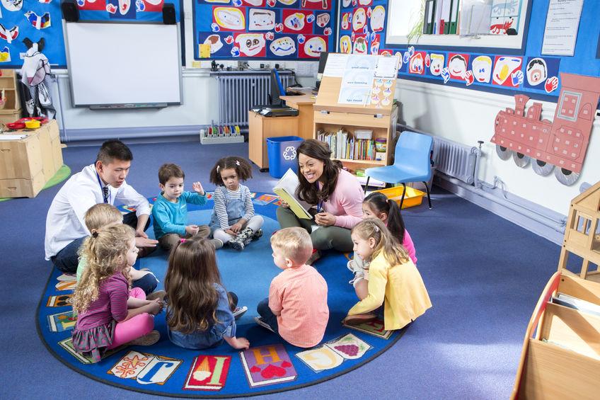 Preschool Reading Games: Circle Name Game