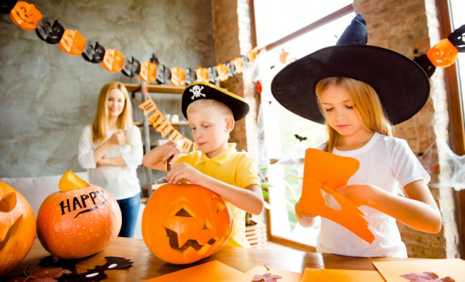 12 Halloween Crafts for Kids
