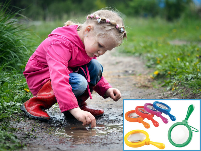 Child Independence Activities - Outdoor Investigation