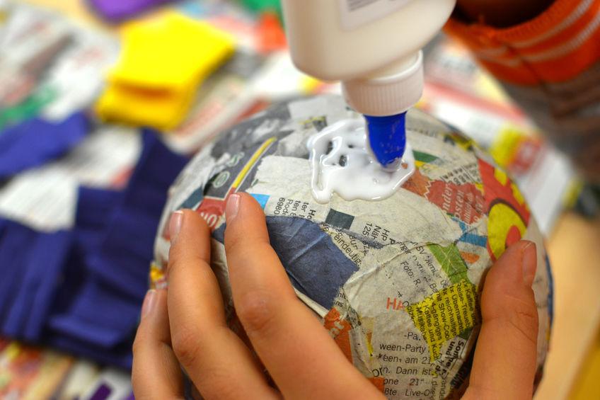Easy Paper Crafts for Kids - Papier Mache