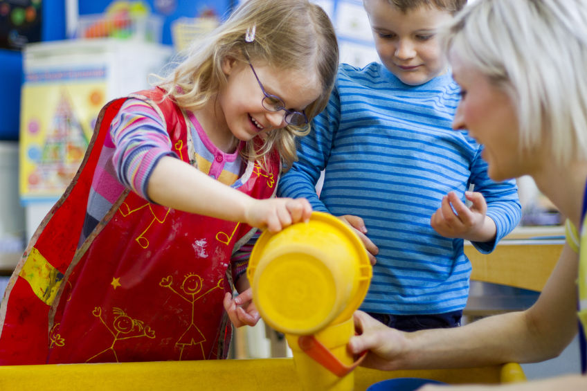 Early Years Science Education - Happy Child