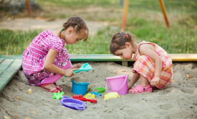 sand pit box table sand play