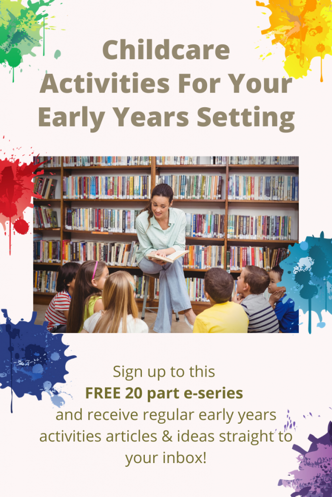 Childcare Activities For Your Early Years Setting